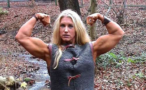 Swedish Female Muscle